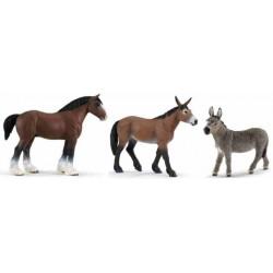 Donkey Mule Mare Figure Animal Farm
