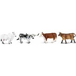 Vacas Toros Ganado Vacuno Figuras