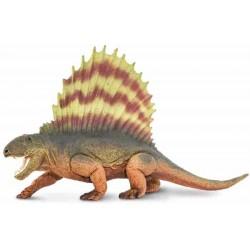 Dinosaurio Carnívoro Dimetrodon Figura