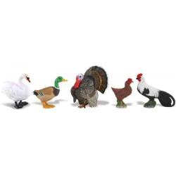 Aves de Granja Figuras