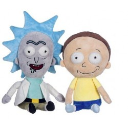 Peluche Rick y Morty