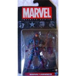 Ojo de Halcón Figura Marvel Infinite Series
