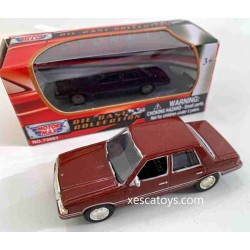 1983 Plymouth Reliant Brown Motor Max 1-64 Scale