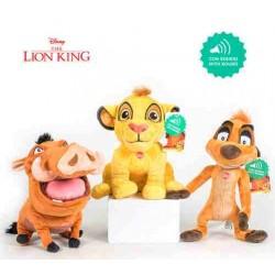 Peluche Simba Mufasa Pumba de El Rey León