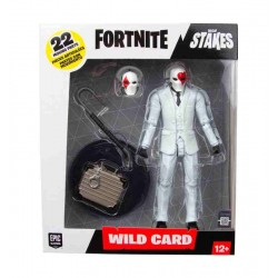 Wild Card Red Action Figure Fortnite