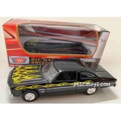 Chevy Caprice Negro Motor Max Escala 1/64