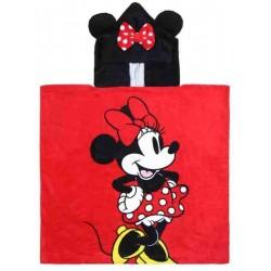 Toalla Capucha Minnie Mouse Disney Poncho