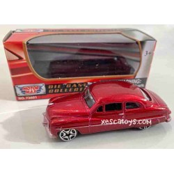 Mercury Coupe Red Motor Max 1-64 Scale