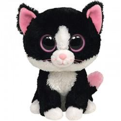 Black and White Cat Plush
