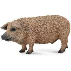 Mangalica Pig Figures Farm Animals